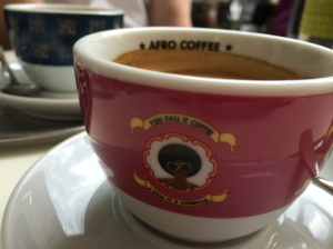 afro coffee close