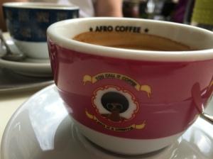 afro coffee close